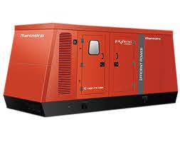 Mahindra Generator India