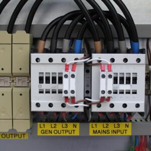 Auto changeover panel