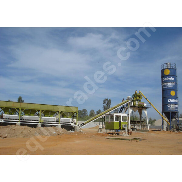Stationary Concrete Batching Plant India
