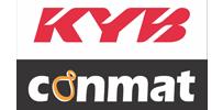 KYB-Conmat batching plant logo